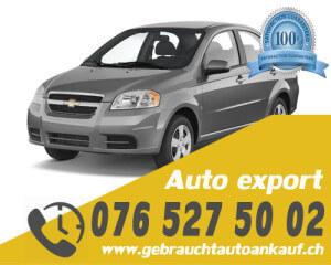 Auto Export Schweiz Deutschland