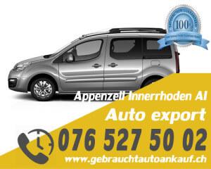 Auto Export Appenzell Innerrhoden Schweiz