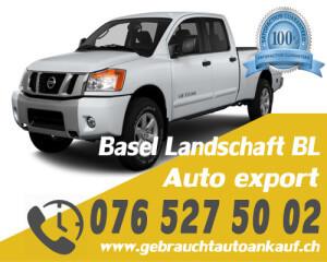 Auto Export Basel Landschaft Schweiz