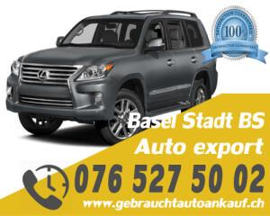 Auto Export Basel Stadt Schweiz
