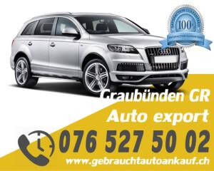 Auto Export Graubünden Schweiz