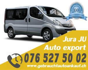 Auto Export Jura Schweiz
