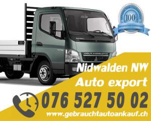 Auto Export Nidwalden Schweiz