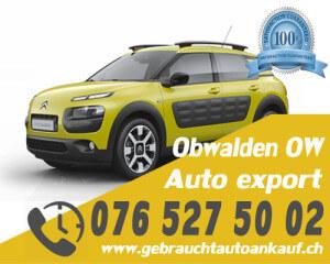 Auto Export Obwalden Schweiz
