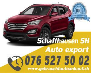 Auto Export Schaffhausen Schweiz
