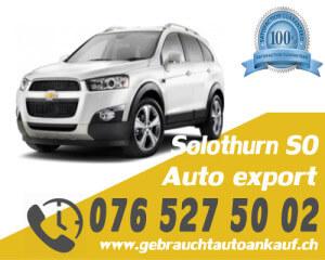 Auto Export Solothurn Schweiz