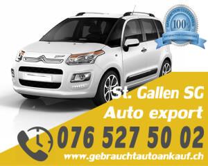 Auto Export St. Gallen Schweiz