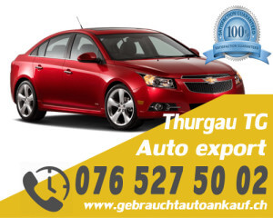 Auto Export Thurgau Schweiz