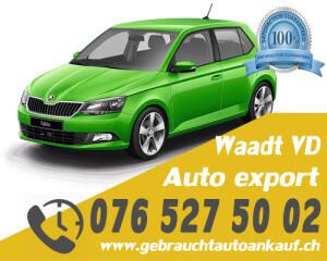 Auto Export Waadt Schweiz