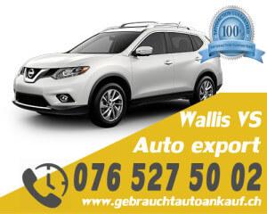 Auto Export Wallis Schweiz