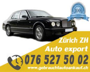 Auto Export Zürich Schweiz