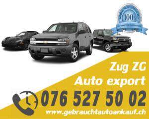 Auto Export Zug Schweiz